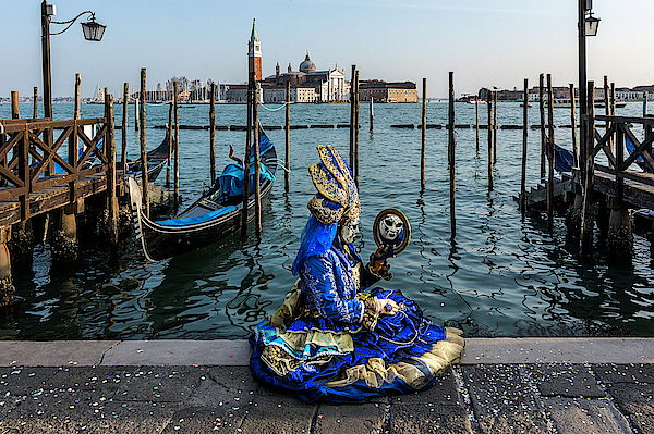 Venetian Mask 2019 012 by Wolfgang Stocker